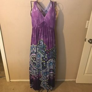 🎉Woman's maxi sun dress size large look🎉